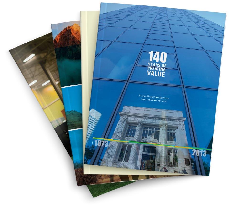 finance, annual report design, california